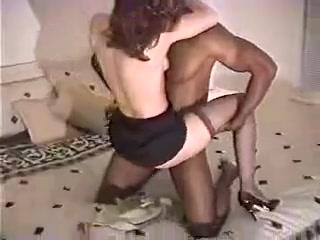 Janet Mason's early amateur interracial sextape