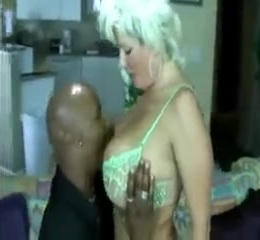 Curly white blonde wife w big tits gets blacked