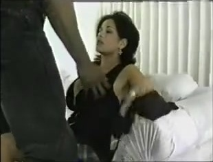 Sexy big titted brunette doll gets pussy rammed